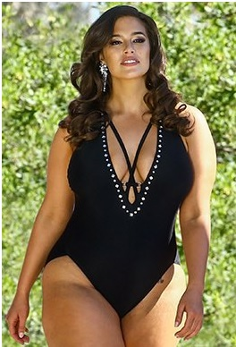 5f566f29a22cb ASHLEY GRAHAM X SWIMSUITS FOR ALL ROARING SWIMSUIT