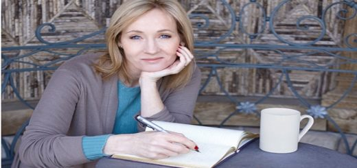 J. K. Rowling, Author of Harry Potter Fantasy Series