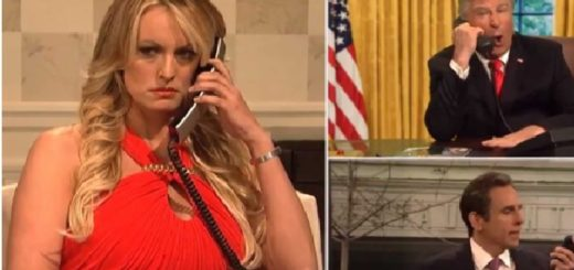Porn Star Stormy Daniels Appears on SNL