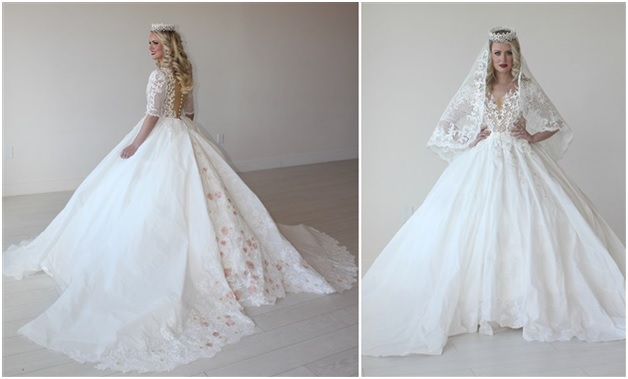 A Remarkable Princess-Style Gown by Kari Curletto