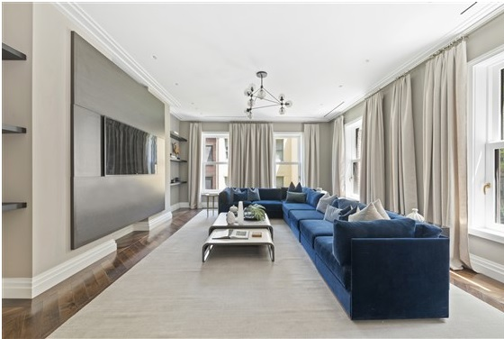 The Bright and Sleek Family Room