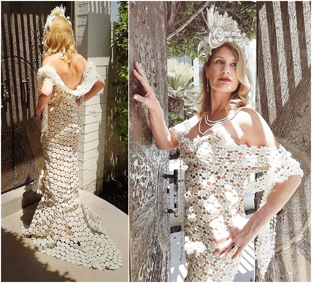 Frank Cazares Designed this Unbelievable Gown