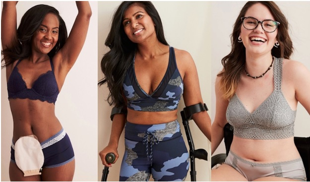 Aerie's New Range of Lingerie Features Women with Chronic Illness and Disabilities