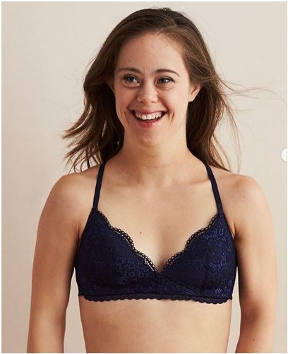 Chelsea Werner, A Paralympic Gymnast, Who Has Down Syndrome Also Posed For Aerie's Campaign