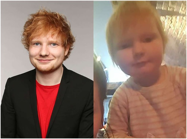 Ed Sheeran look alike