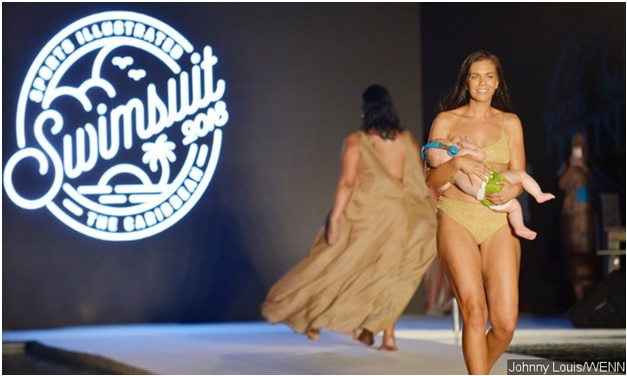 Mara Martin walked Sports Illustrated Swimsuit Edition