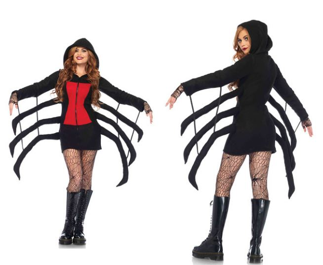 (COZY SPIDER COSTUME)