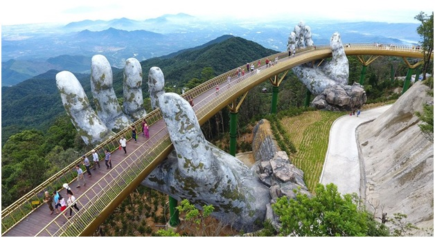 golden bridge vietnam