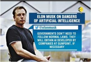 Elon Musk response on killer robots
