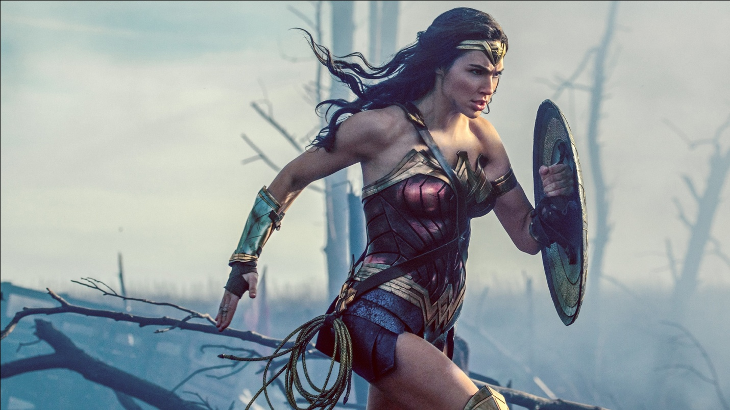 (The Rough and Tough Gal Gadot From The Movie Wonder Woman)