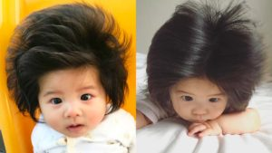 (Get Envied of Baby Chanco's Voluminous and Lustrous Locks)
