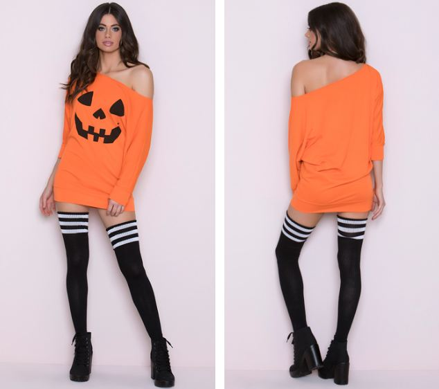 (LOOSE PUMPKIN TANK DRESS)
