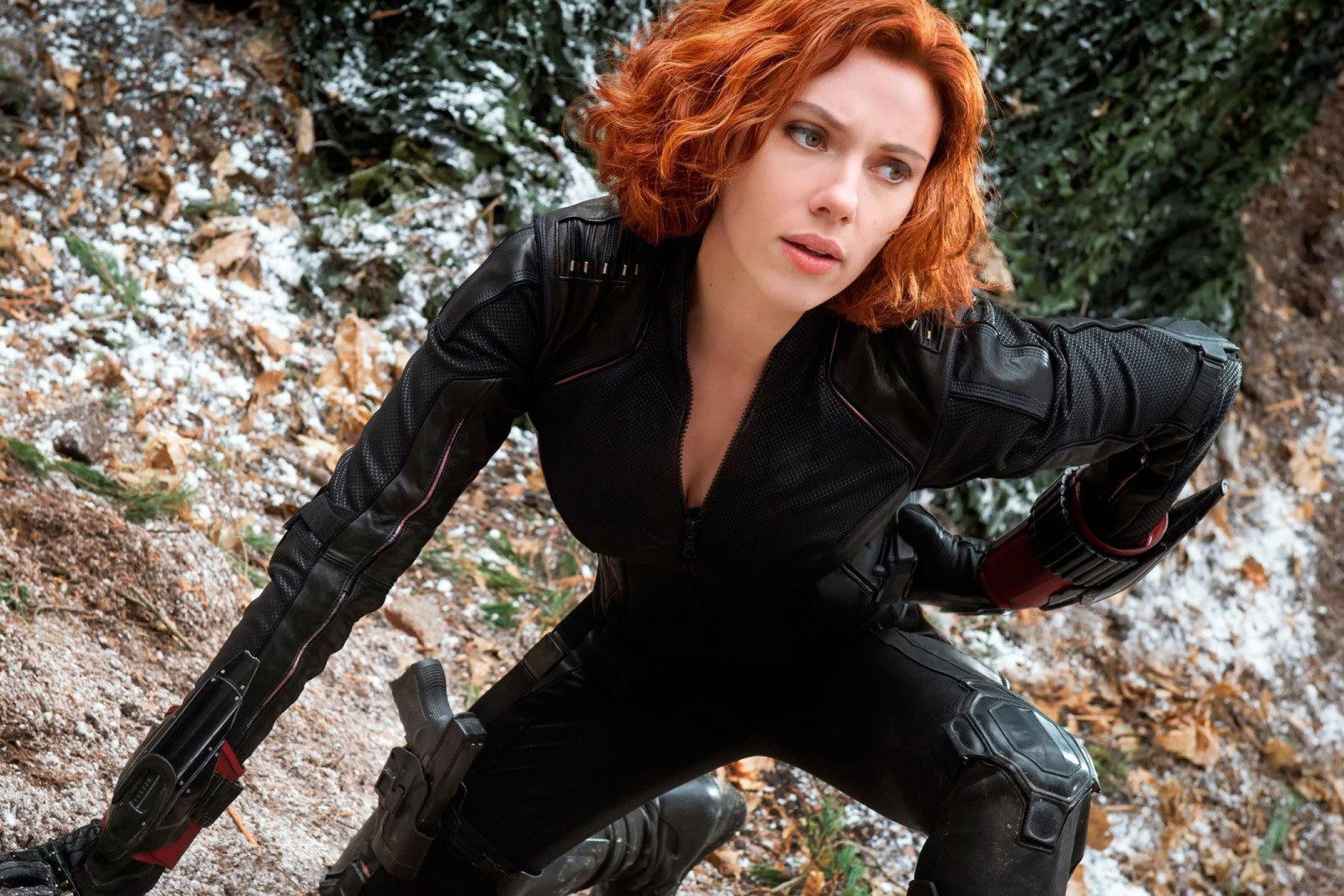 (Scarlette Johansson as Black Widow (Natasha Romanova) in Marvel's Avenger)