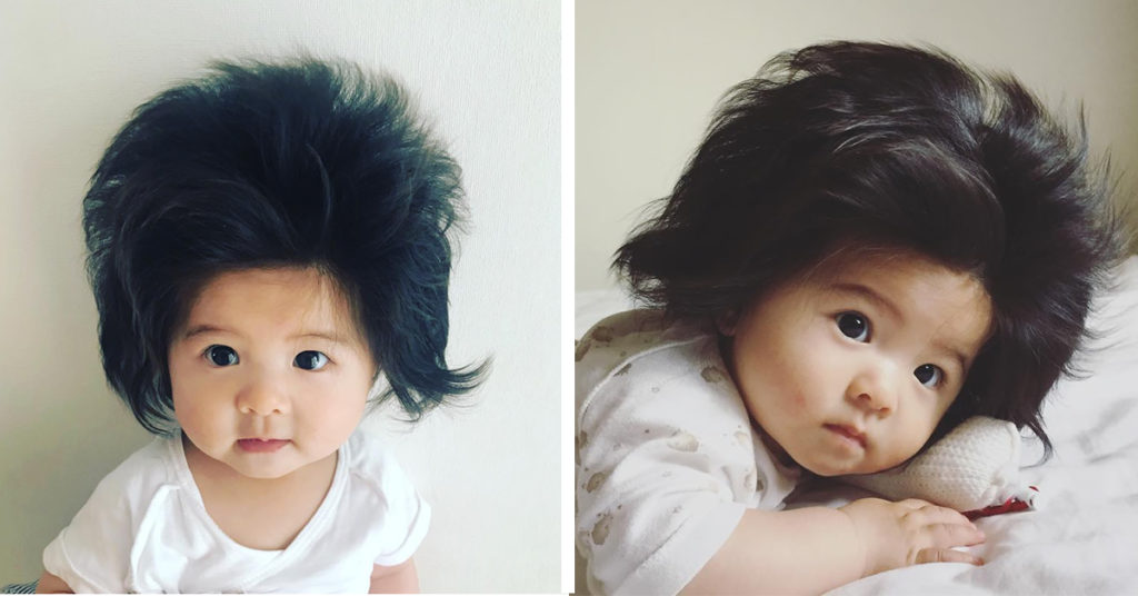 (The Front and Side Look of Baby Chanco's Hair is a Treat to the Eyes)