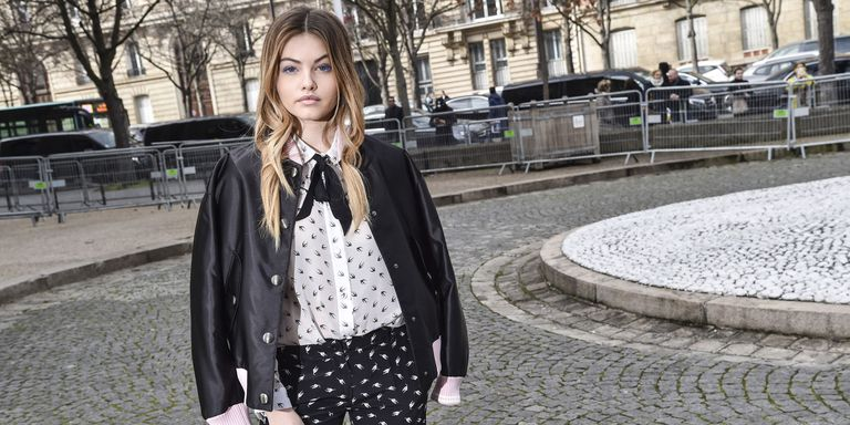 (Thylane Blondeau Photoshoot)