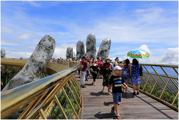 vietnam bridge tourist place
