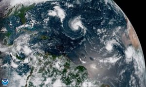 Tropical Storm Florence Getting Closer to The US