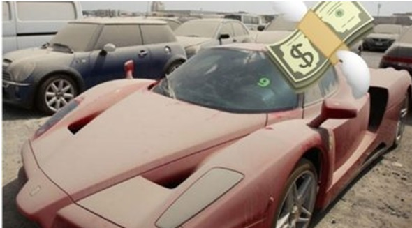 Abandoned Supercars On Sale with Heavy Discounts