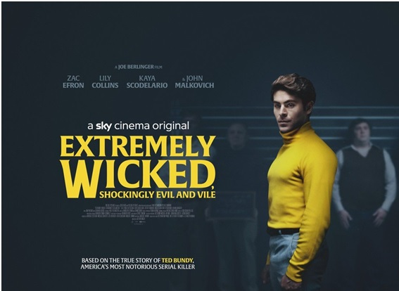 "A Movie ""Extremely Wicked, Shockingly Evil and Vile"" Based on the Crimes of Ted Bundy"