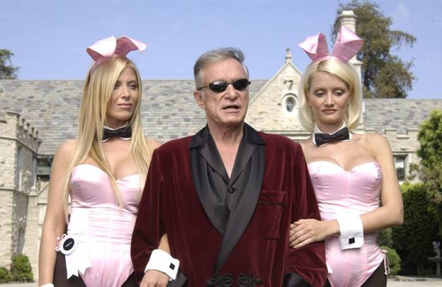 Hugh Marston Hefner (April 9, 1926 – September 27, 2017)
