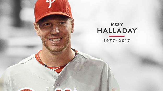 Harry Leroy Halladay (May 14, 1977 – November 7, 2017)