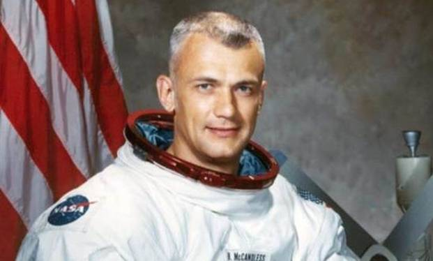 Bruce McCandless II (June 8, 1937 – December 21, 2017)