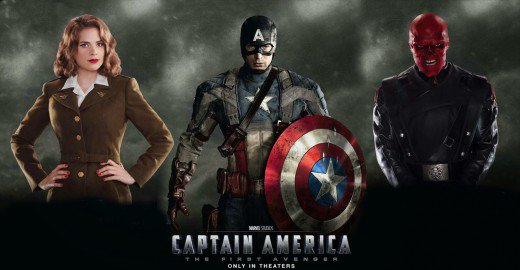 Captain America: The First Avenger (Release Date July 22, 2011)